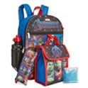Bioworld Little & Big Boys 5-Pices Avengers Backpack & Lunch Kit Set