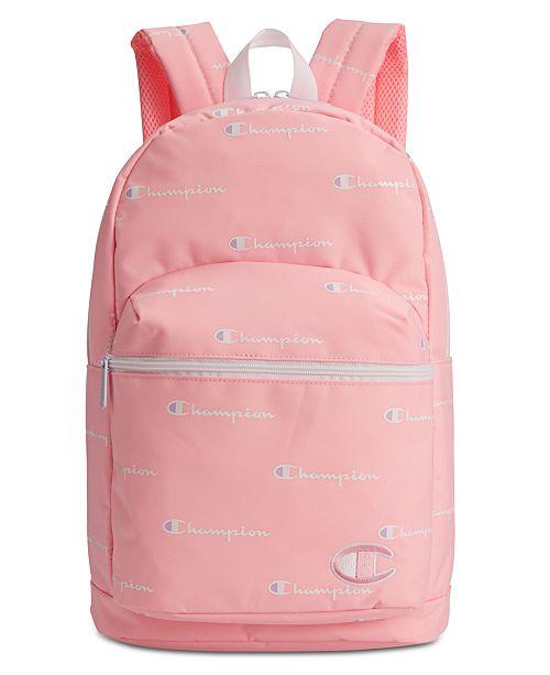 Champion Big Girls Supercize Logo Backpack