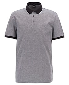 BOSS Men's Prout 16 Regular-Fit Cotton Polo Shirt