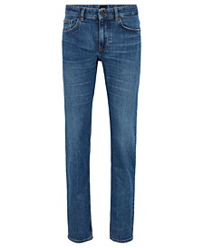 BOSS Men's Delaware Distressed Slim-Fit Jeans
