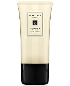 Jo Malone London Geranium & Walnut Hand Cream, 1.7-oz.