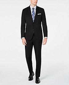 Kenneth Cole Unlisted Men's Slim-Fit Black Solid Suit
