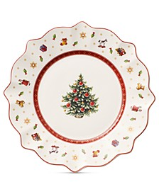 Toy's Delight White Salad Plate