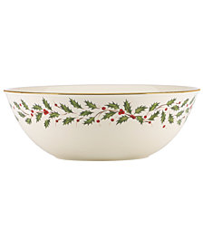 Lenox Holiday Large Bowl