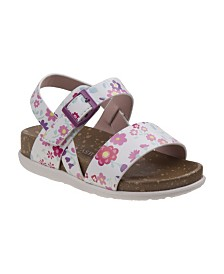 Laura Ashley's Every Step Multi Color Cork Lining Sandals