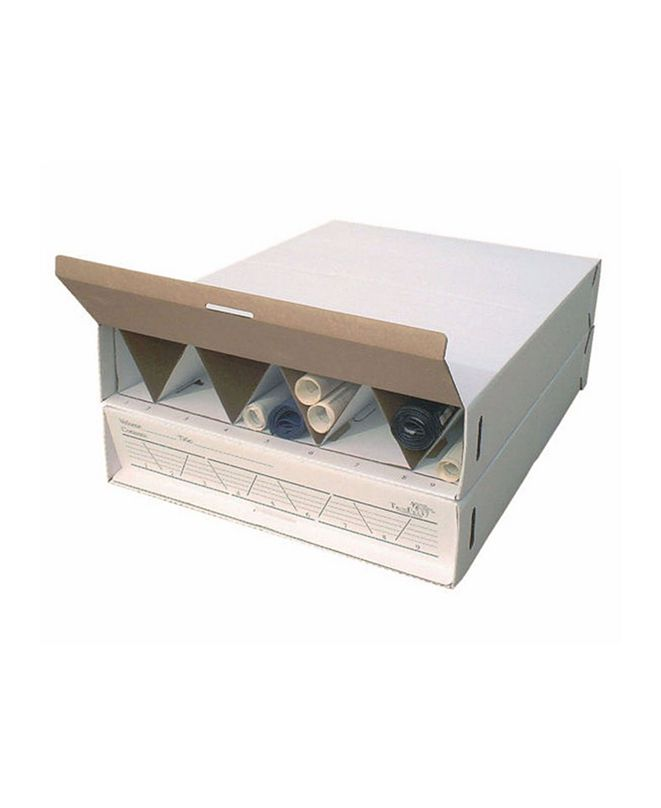"""Offex Modular Stackable Roll Storage up to 36"""" in Length"""