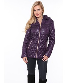 White Mark Women's Puffer Coat