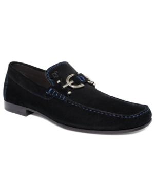 Donald Pliner Dacio Suede Bit Loafer Men's Shoes