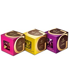 Godiva 3-Pc. Milk, Dark & Caramel G Cube Set