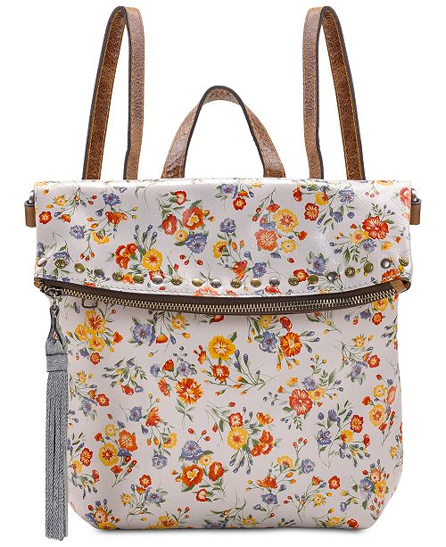 Patricia Nash Mini Meadows Luzille Convertible Leather Backpack