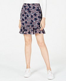 Ruffled Floral-Print Skirt, Created for Macy's