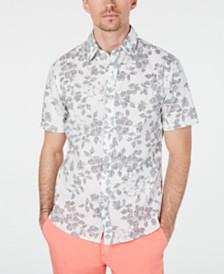 MICHAEL Michael Kors Men's Slim-Fit Reverse Print Shirt