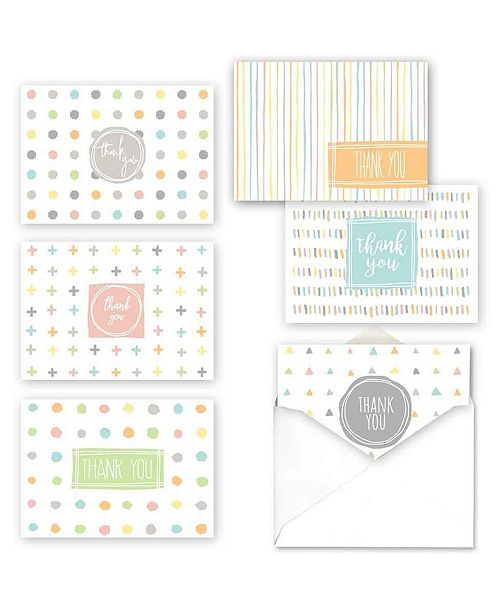 Masterpiece Cards Simply Shapes Note Cards Assortment