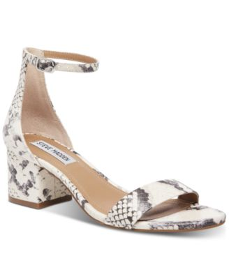 374a16678187 Steve Madden Women's Irenee Block-Heel Sandals & Reviews - Sandals & Flip  Flops - Shoes - Macy's