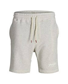 Jack & Jones Men's Melange Style Sweat Shorts