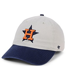 '47 Brand Houston Astros Gray 2-Tone CLEAN UP Cap