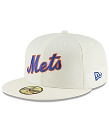 New York Mets Vintage World Series Patch 59FIFTY Cap