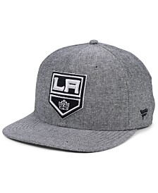 Authentic NHL Headwear Los Angeles Kings Chambray Emblem Snapback Cap