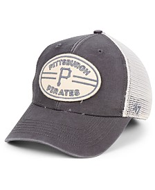 '47 Brand Pittsburgh Pirates Hudson Patch Trucker MVP Cap