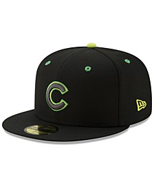 Chicago Cubs Night Moves 59FIFTY Fitted Cap