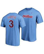 8fdbfd2ffc694 Majestic Men s Bryce Harper Philadelphia Phillies Official Player T-Shirt