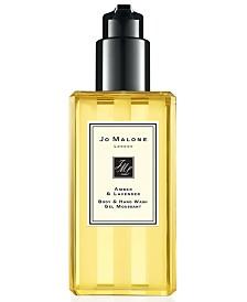 Jo Malone London Amber & Lavender Body & Hand Wash, 8.5-oz.