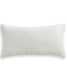 "CLOSEOUT! Classic Botanical 12"" x 24"" Decorative Pillow, Created for Macy's"