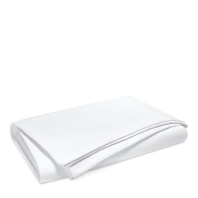 Willa King Basket-Weave Bed Blanket
