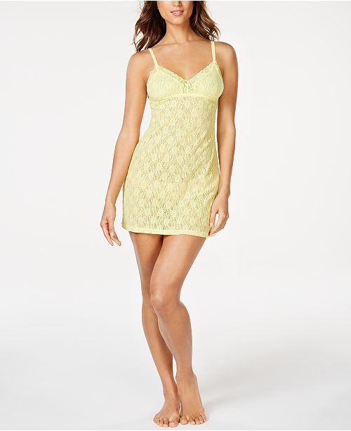 Cosabella Adore Semi-Sheer Lace Babydoll Chemise Nightgown, Online Only