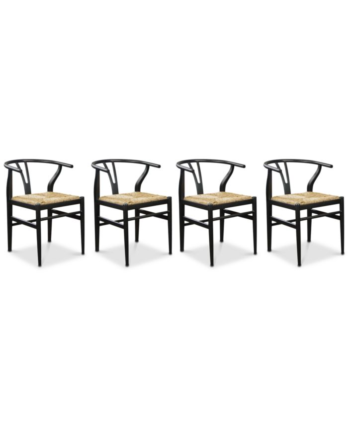 Furniture Stella Side Chair, 4-Pc. Set (4 Side Chairs) & Reviews - Furniture - Macy's