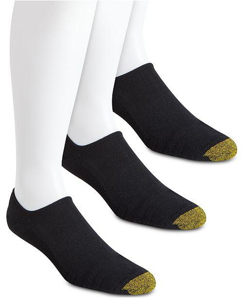 Gold Toe Men's 3-Pk. Low-Profile Sneaker Socks