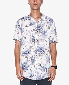Men's Party Cotton Button-Down Shirt
