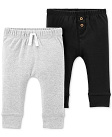 Baby Boys 2-Pack Cotton Pants