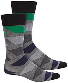 Men's Colorblocked Socks, Created for Macy's