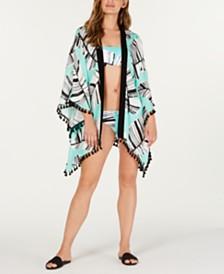 Trina Turk Copacabana Printed Kimono Cover-Up