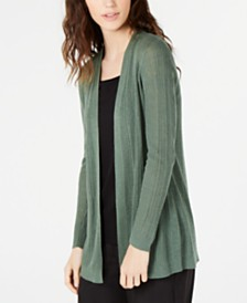 Eileen Fisher Simple Cardigan, Regular & Petite