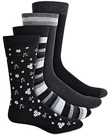 Men's 4-Pk. Socks, Created for Macy's