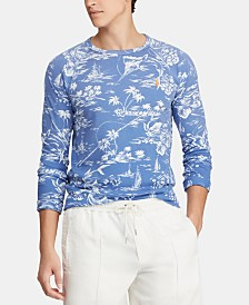 Polo Ralph Lauren Men's Floral-Print Graphic Shirt