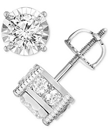 Diamond (1-1/4 ct. t.w.) Stud Earrings