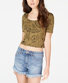 GUESS Cayla Cage-Back Top