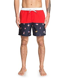 "Hot Dog 17"" Swim Trunks"