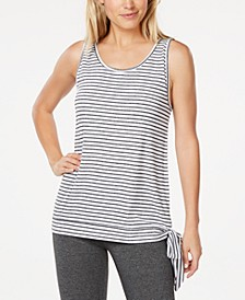 Striped Side-Tie Tank Top, Created for Macy's