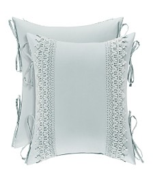 "Piper & Wright Eva 18"" Square Decorative Pillow"