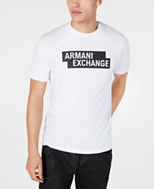 A|X Armani Exchange Men's Block Logo Graphic T-Shirt