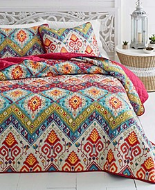Moroccan Nights Quilt Set, Full/Queen