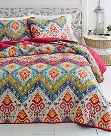 Azalea Skye Moroccan Nights Quilt Set, Full/Queen