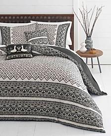 Greca Borders Comforter Set, Twin