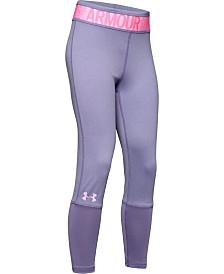 Under Armour Girls' HeatGear® Armour Heather Ankle Crop