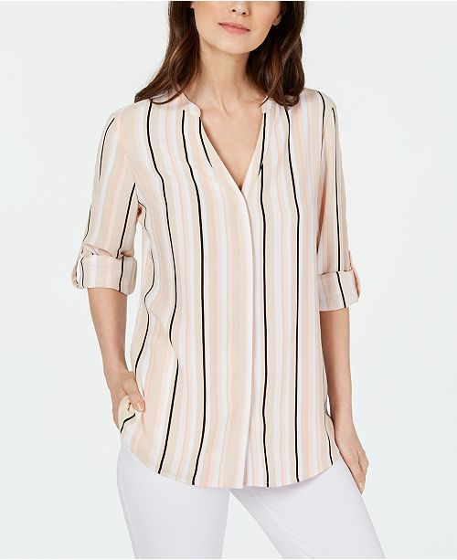 Alfani Striped Shirt, Created for Macy's