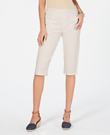 Style & Co Avery Pull-On Skimmer Jeans, Created for Macy's